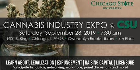 Cannabis Industry Expo @ Chicago State University tickets