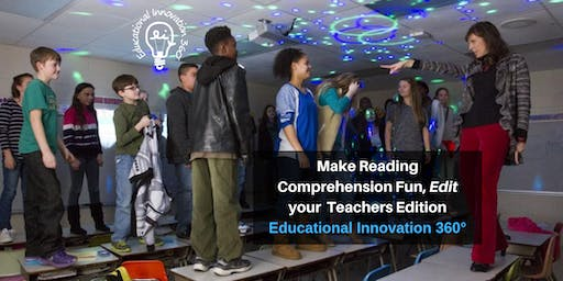 Make Reading Comprehension Fun, Edit your Teachers Edition!