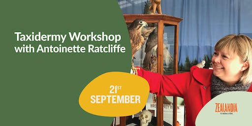 Taxidermy Workshop with Antoinette Ratcliffe