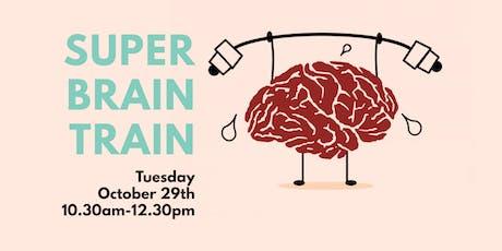 Free Super Brain Train tickets