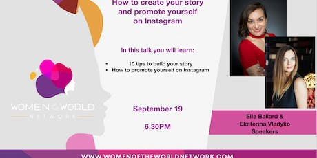 San Diego, CA: How to Create Your Story and Promote Yourself on Instagram tickets