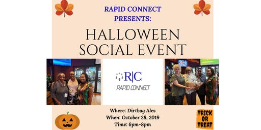 Rapid Connect Present: Halloween Networking Event