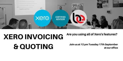 Xero Session: Up your Invoicing game!