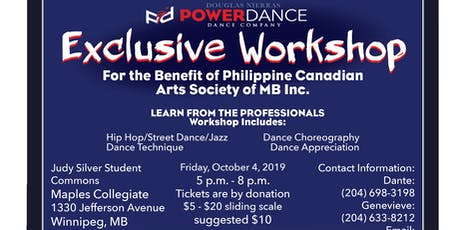 Powerdance Workshop tickets