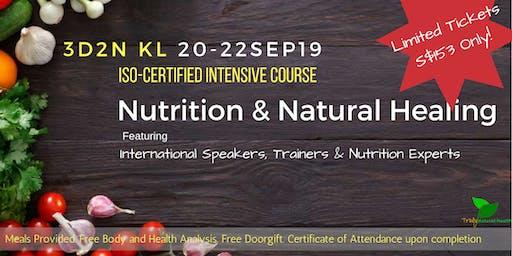3D2N KL - ISO Certified Nutrition & Natural Healing Workshop