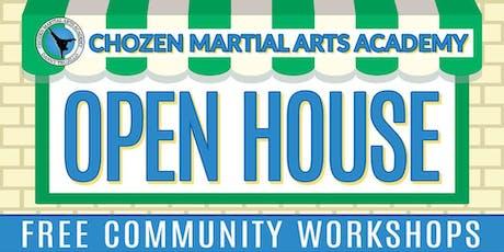 Chozen Martial Arts Fall 2019 Open House tickets