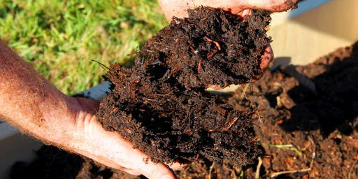 Making beautiful soil from food and garden waste