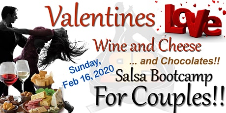 Valentines Wine & Cheese Couples Bootcamp! - Sunday, February 16, 2020 tickets