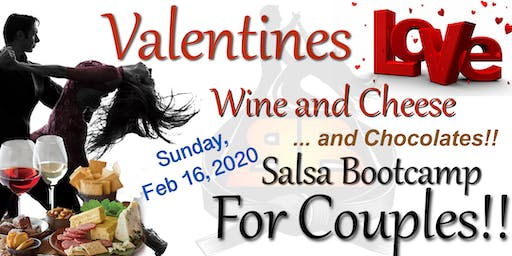 Valentines Wine & Cheese Couples Bootcamp! - Sunday, February 16, 2020