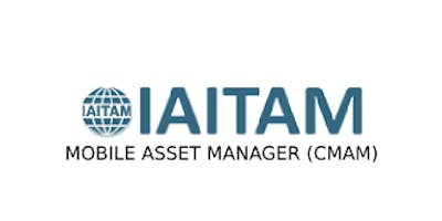 IAITAM Mobile Asset Manager (CMAM) 2 Days Training in Cardiff
