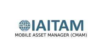 IAITAM Mobile Asset Manager (CMAM) 2 Days Training in Newcastle