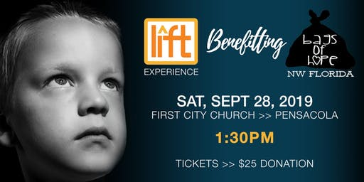 LIFT Experience Benefitting Bags of Hope >> 1:30PM