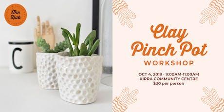 Clay Pinch Pot Workshop tickets