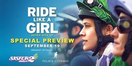 'Ride Like A Girl' Movie Night tickets