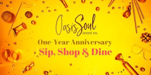 Oasis Soul: Anniversary Sip, Shop & Dine