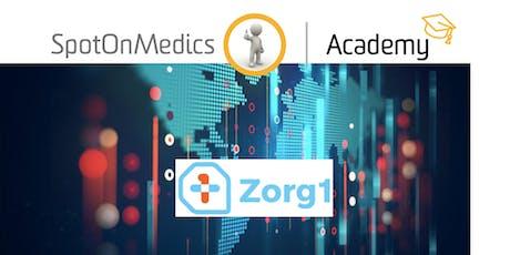 Werken met Zorg1 in het SpotOnMedics FysioOne PatiëntenDossier (instellingen en data-export) tickets