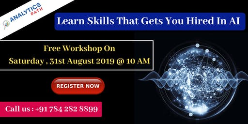 Attend Free AI Workshop By Analytics Path On 31st August, 10 AM, Hyderabad