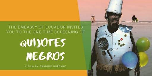 LASFF Nelson 2019 [Ecuador] - Black Quixotes / Quijotes negros