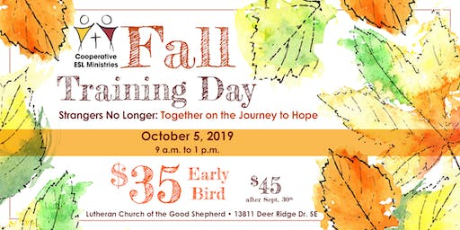 Cooperative ESL Ministries Fall Training Day