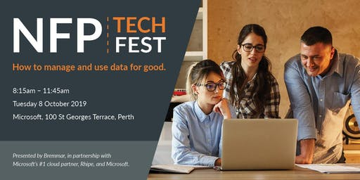 NFP TechFest: How to manage and use data for good.