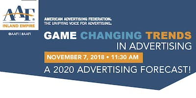 Game Changing Trends In Advertising