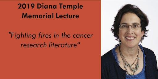 2019 Diana Temple Memorial Lecture