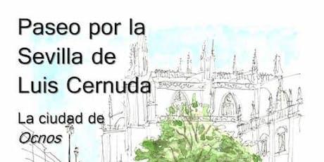 Ruta Literaria por la Sevilla de Luis Cernuda entradas