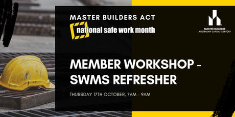 MBA Member Workshop - SWMS Refresher tickets
