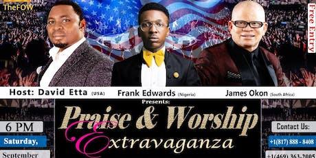 TheFOW Praise & Worship Extravaganza tickets