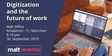 Digitization and the future of work Tickets