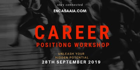 Career positioning workshop tickets