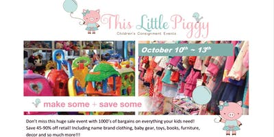 This Little Piggy's Fall 2019 Event / 4 Days Only! Oct 10-13