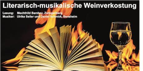 Literatur/Musik/Wein Tickets