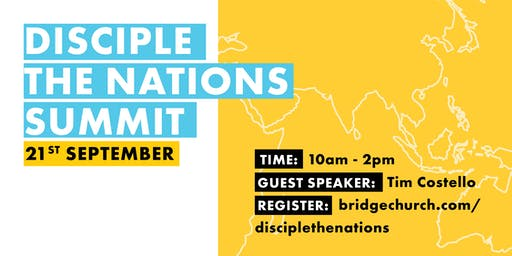 Disciple the Nations Summit