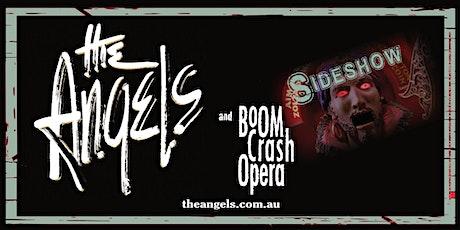 THE ANGELS + BOOM CRASH OPERA tickets
