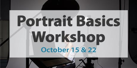 Portrait Photography Basics - 2 part workshop tickets
