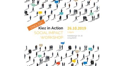 Kiez in Action - Social Impact Workshop | Neukölln tickets