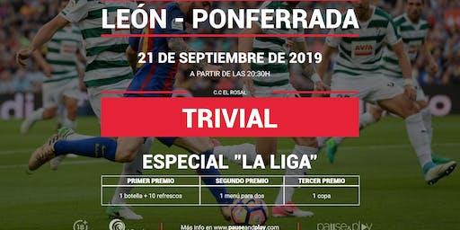 Trivial Especial La Liga en Pause&Play El rosal
