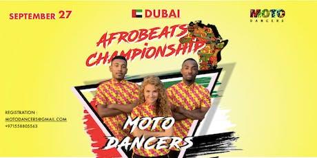AFROBEATS CHAMPIOSHIP 2019 IN DUBAI tickets