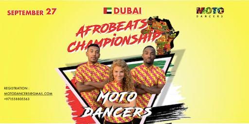 AFROBEATS CHAMPIOSHIP 2019 IN DUBAI
