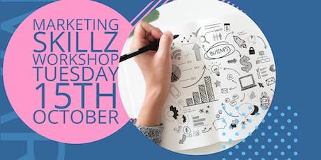 Marketing Skillz Workshop tickets