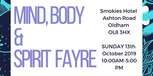 Mind, Body and Spirit fayre