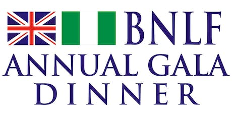 British Nigeria Law Forum (BNLF) Annual Gala Dinner & Awards 2019 tickets