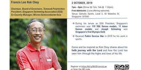 CBN My Journey Series: An Evening with Francis Lee Kok Choy tickets
