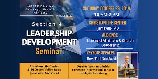MD/DC District Section 4 Leadership Seminar