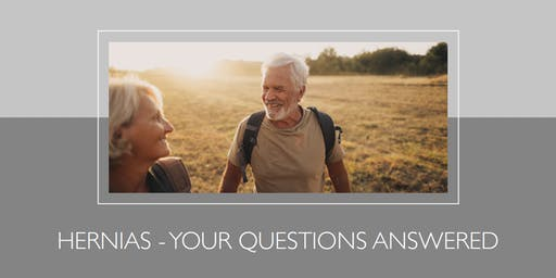 Free patient health talk: Hernia Q&A