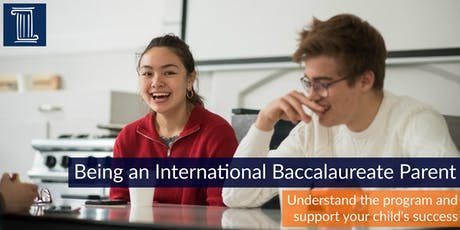Being an IB Parent: How best to support your child for success tickets