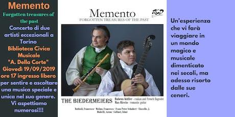 """""""Memento""""Forgotten Treasures of the Past biglietti"""