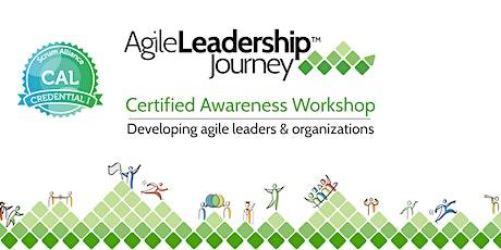 Agile Leadership Journey Awareness Workshop (CAL 1) - Denver, CO tickets