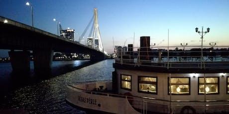 Riga Networking on boat summer 2019 tickets